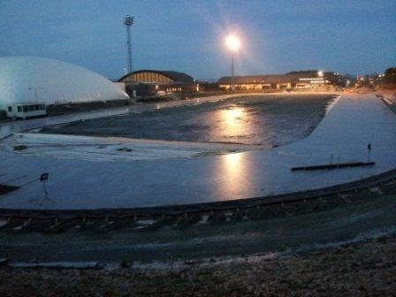 Is på Leangen 1.november